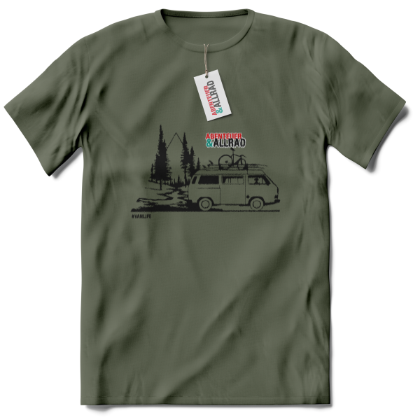 "T-shirt ""vanlife"" children"