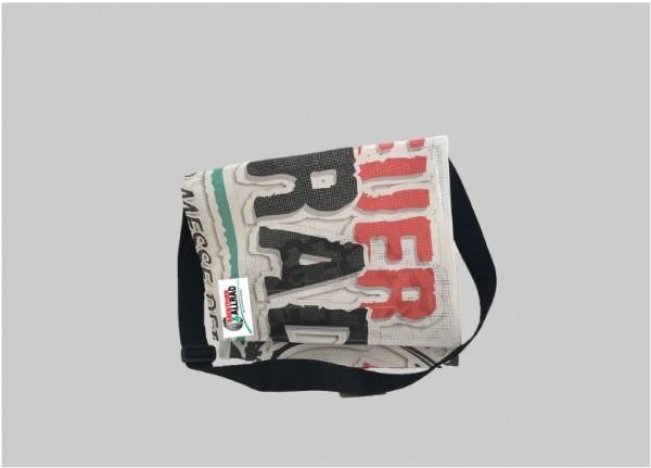 Upcycling shoulder bag big