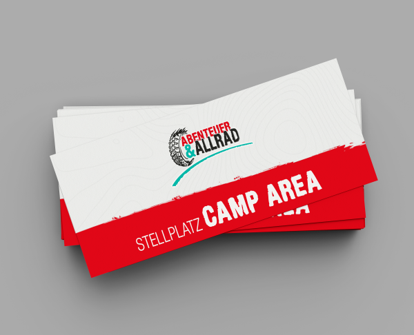 CAMP AREA motorcycle ticket for Thursday 21.10.2021